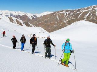 اسکی در پایتخت طبیعت ایران