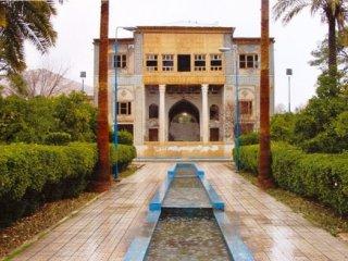 باغ دلگشا شیراز، باغی به جا مانده از دوره ساسانی