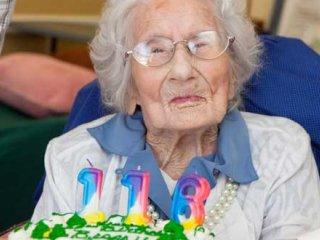 راز عمر طولانی پیرترین زن دنیا چه بوده است؟!!