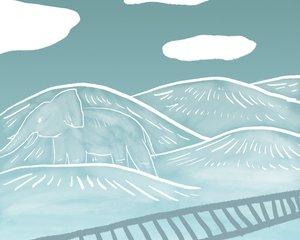 تپههایی چون فیلهای سفید. نویسنده: ارنست میلر همینگوی. ترجمه: احمد گلشیری