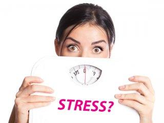 رابطه استرس و افزایش وزن.