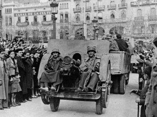جنگ داخلی اسپانیا.