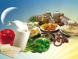 جایگزین های مواد غذايي در ماه رمضان