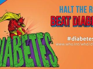 غلبه بر دیابت، شعار روز جهانی بهداشت 2016
