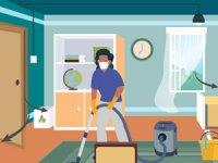 نظافت و ضدعفونیکردن خانه در زمان کرونا